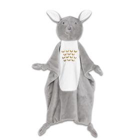 The Peanutshell Mix & Match Grey Deer Security Blanket