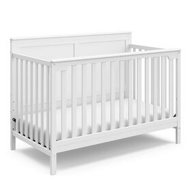 Storkcraft Alpine 4-in-1 Convertible Crib - White.