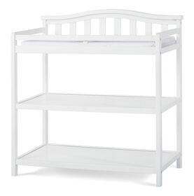 Child Craft Camden Changing Table, Matte White||Child Craft Camden Changing Table, Matte White