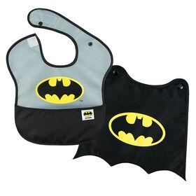 Bumkins Caped Superbib - Batman