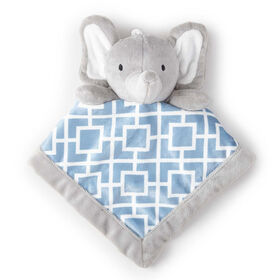 Levtex Baby Security Blanket - Grey Elephant||Levtex Baby Security Blanket - Grey Elephant