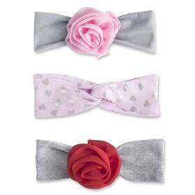 Baby Essentials 3-Pack Turban Headbands