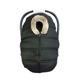 Petit Coulou Winter Car Seat Cover - Black