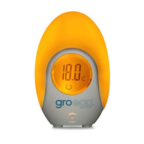Gro-egg –Thermomètre à changement de couleur.
