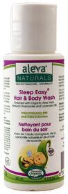 Aleva Naturals Sleep Easy Baby Wash 60ml