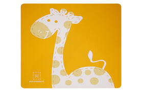 Marcus & Marcus Placemat - Lola the Giraffe - Yellow