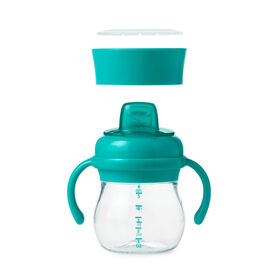 Oxo Tot Transitions Soft Spout Sippy Cup Set - Teal