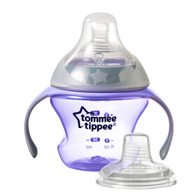 Tommee Tippee First Sips Soft Transition Cup - Purple