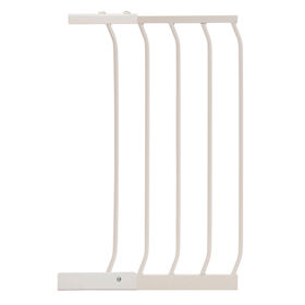 Dreambaby Chelsea Auto-Close Gate / Xtra Wide Gate - 14/36cm Gate Extension - White - R Exclusive