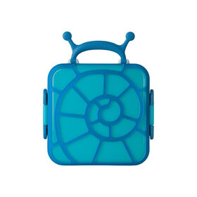 Boon Bento Snail Lunch Box - Blue