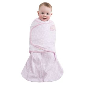 Halo SleepSack Swaddle 100% Cotton - Pink Diamond, Small