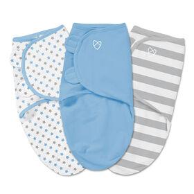 Summer Infant SwaddleMe Original Swaddle - Small/Med - 3 Pack - Stripe  Summer Infant SwaddleMe Original Swaddle - Small/Med - 3 Pack - Stripe