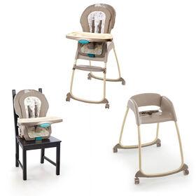 Ingenuity Trio 3-in-1 Deluxe High Chair - Sahara Burst