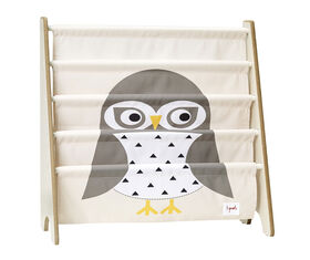 3 Sprouts Book Rack - Owl