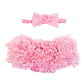 So'Dorable Diaper Cover Set - Pink