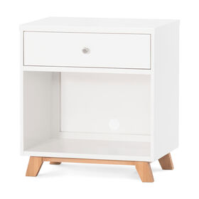 Child Craft Forever Eclectic™ SOHO Night Stand - White/Natural