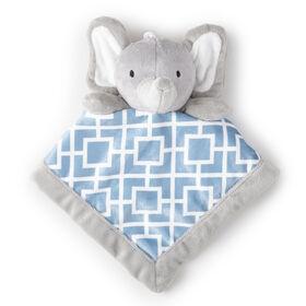 Levtex Security Blanket - Baby Grey Elephant