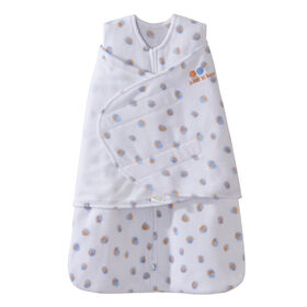 HALO SleepSack Swaddle - Watercolour Dots - Micro-fleece - Small||HALO SleepSack Swaddle - Watercolour Dots - Micro-fleece - Small