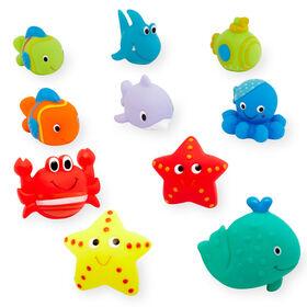Babies R Us Bath Squirties - 10 Pack