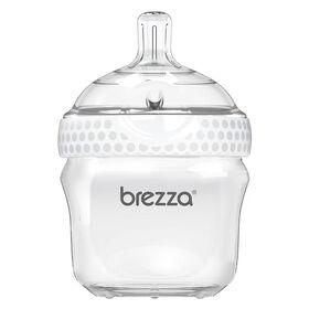 Baby Brezza Polypropylene Bottle 5 oz. - White