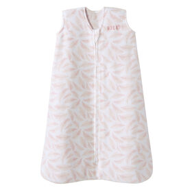 HALO SleepSack - Micro Fleece - Pink Leaves - Large