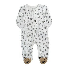 Disney's Winnie the Pooh footed Sleeper - Ivory, 6 Months