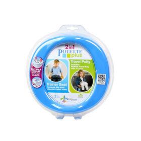 Toilette portative 2-en-1 de Potette Plus.