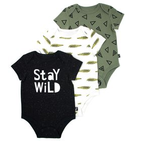 Mini Heroes 3-Pack Bodysuits - 3 Months