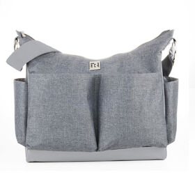 Ryco Autumn Scoop Design Tote Diaper Bag - Grey