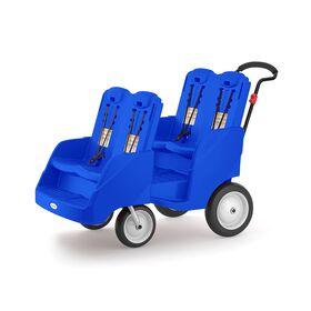 Foundations Gaggle 4 Multi-Passenger Buggy;Blue
