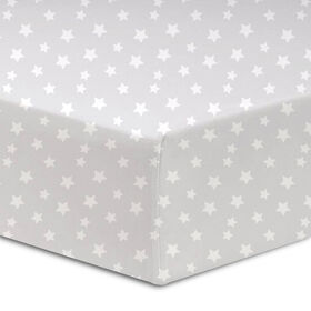 Koala Baby 100% Cotton Jersey Knit Fitted Crib Sheet