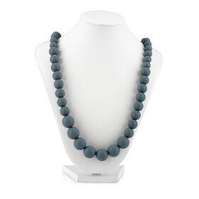 Nuby Teething Trends Beaded Teething Necklace - Grey