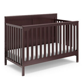 Storkcraft Alpine 4-in-1 Convertible Crib - Espresso.