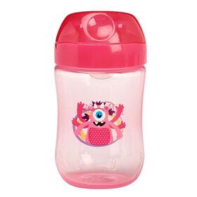Dr. Brown's 9oz Soft Spout Transition Cup 9M+ - Pink