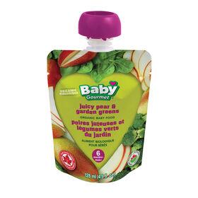 Baby Gourmet Juicy Pear & Garden Greens