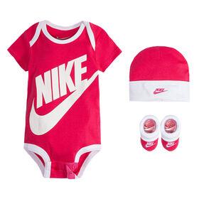 Nike Creeper Set - Pink, 0-6 Months
