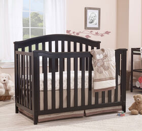 Sorelle - Berkley 4-In-1 Convertible Crib - Espresso