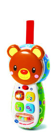 Peek-a-Bear Baby Phone - French Edition