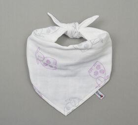 BBZanimo muslin bandana - Sheep, Purple