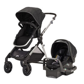 Evenflo Pivot Xpand Modular Travel System with SafeMax Infant Car Seat - Stallion
