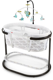 Fisher-Price Soothing Motions Bassinet - Falling Leaves - R Exclusive