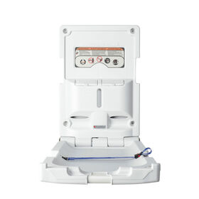 Foundations®  Vertical Surface Mount Baby Changing Station (EZ™ Mount Backer Plate NOT Included)||Foundations®  Vertical Surface Mount Baby Changing Station (EZ™ Mount Backer Plate NOT Included)