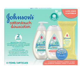 Johnsons Cotton Touch Gift Pack