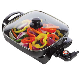 Brentwood 12 Non-Stick Electric Skillet with Glass Lid - SK65