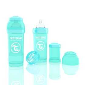 Twistshake Anti-Colic Bottle 260ML - Turquoise