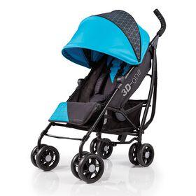Summer Infant 3D-one Convenience Stroller – Geometric Blue