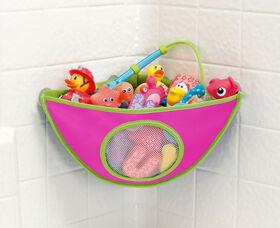 Munchkin High 'N Dry™ Corner Bath Organizer   - Pink