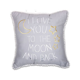 The Peanut Shell Moon and Back Pillow||The Peanut Shell Moon and Back Pillow