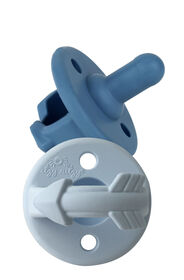 Itzy Ritzy - Sweetie Soother Silicone Pacifier - Blue Arrows