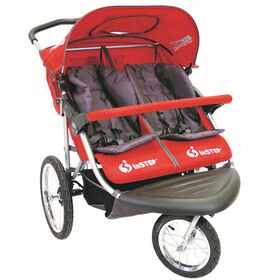 Instep Safari TT Double Jogger - Red